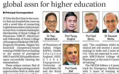 Kingsway Hospitals Joins Global Association for Higher Education