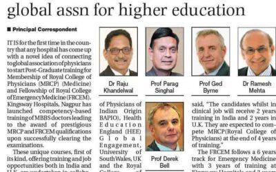 Kingsway Hospitals Joins Global Association for Higher Education
